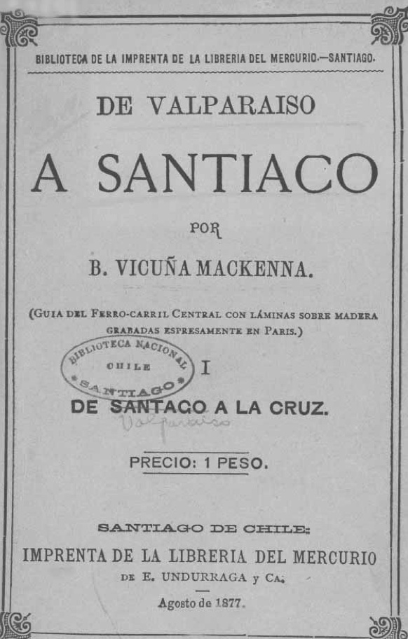 De Valparaiso a Stgo V McKenna cubierta