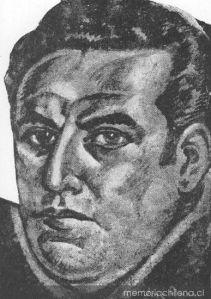 Retrato de Pablo de Rpkha por José Romo Vargas, publicado en Multitud