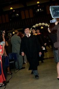 Graduación en City College of New York, 2004